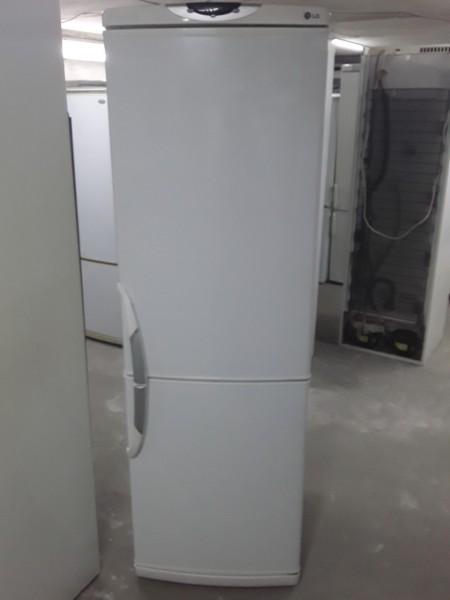 Холодильник LG 190 см (Белый No Frost)