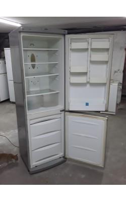 Холодильник LG 190 см Металлик (Серые ручки)